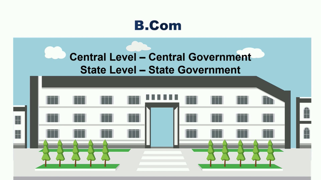 बीकॉम के बाद सरकारी नौकरी